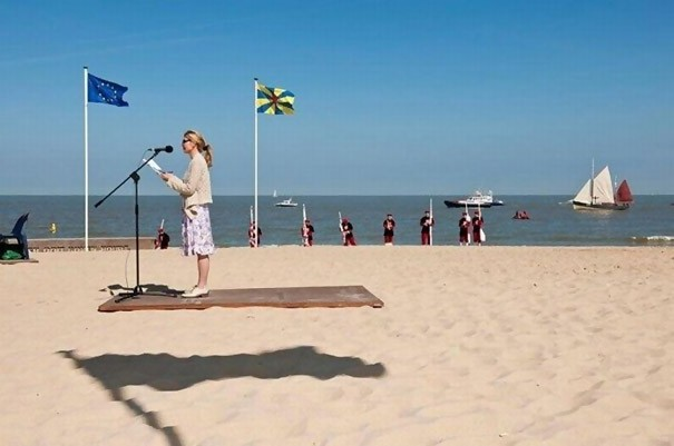 Levitation On The Beach