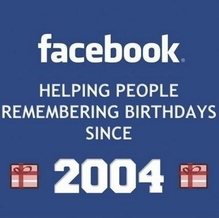 That's Why Facebook Was Created!