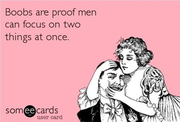 Men, You Are Caught!