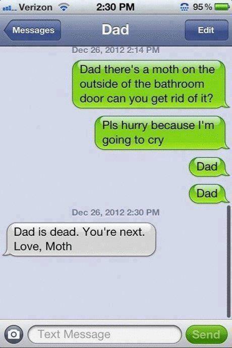 My Dad Has a Great Sense of Humor!
