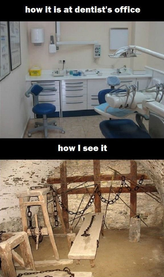 My Thoughts When I'm Going to the Dentist!