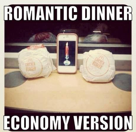 If You Have No Money For Romantic Dinner!