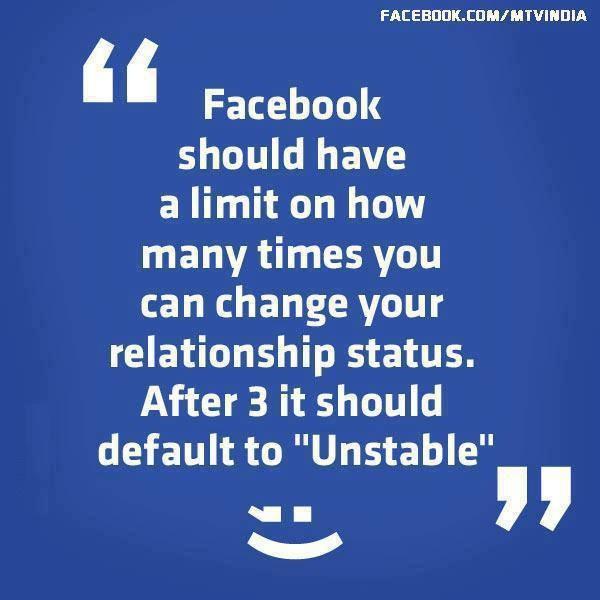 New Facebook Relationship Status!