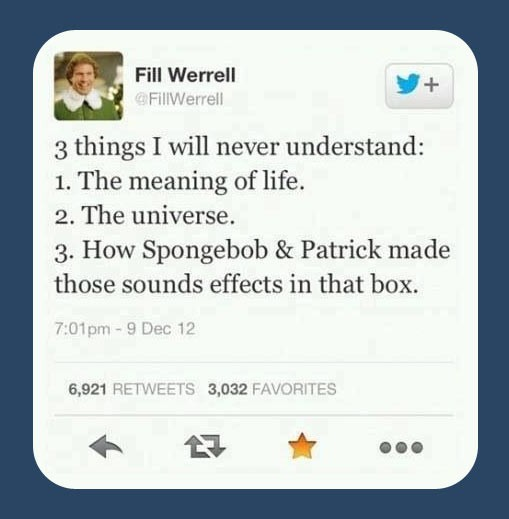 3 Things I'll Never Understand!