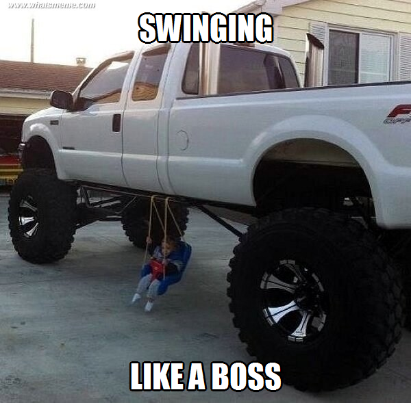 Swinging Like a Boss!