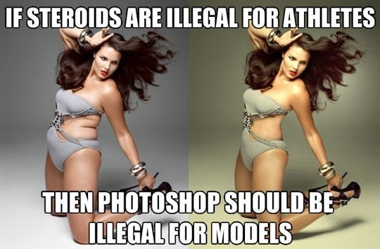 Photoshop Should Be Illegal For Models!
