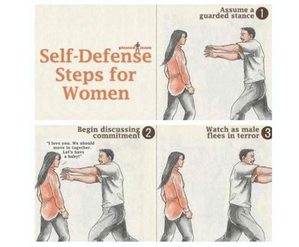 Self-Defense Steps! Women Only!