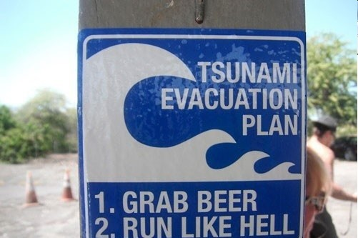 The Best Tsunami Evacuation Plan I've Ever Seen!