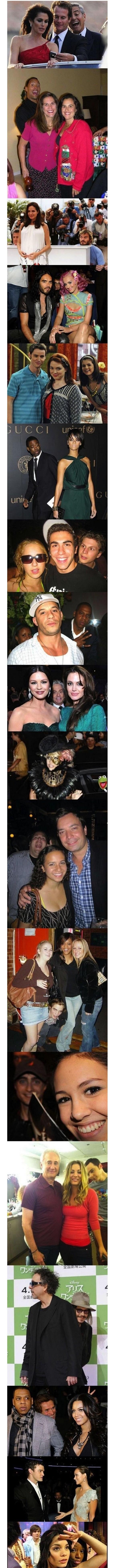 Really Cool Celebrities Photobombing!