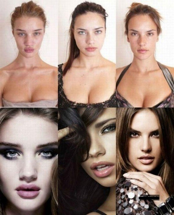 Real Victoria Secret Faces!