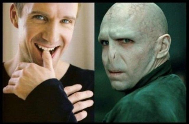 Voldemort's Real Face!