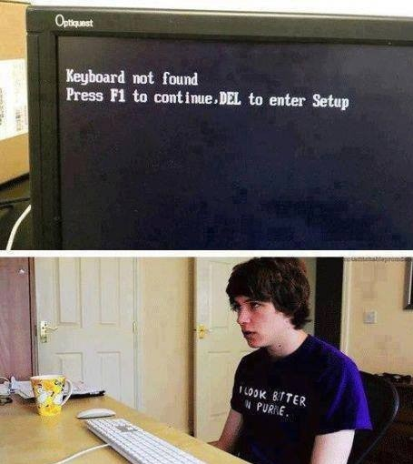 Keyboard Not Found!