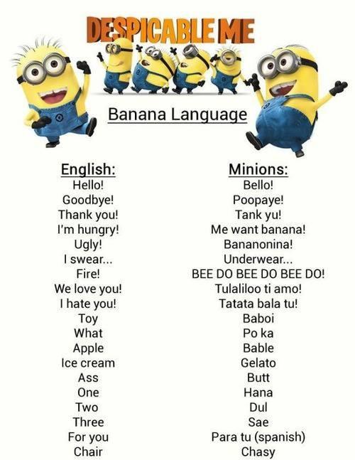 Everyone Is Learning Banana Language!