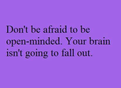 Don't Be Afraid!