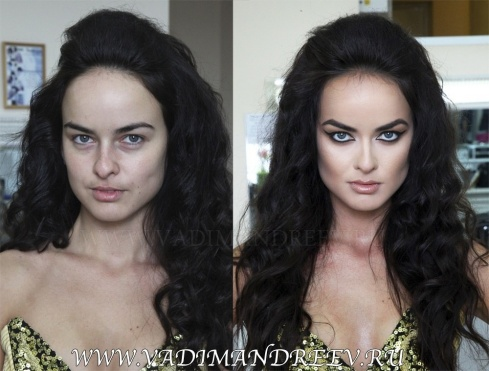Top-15 Before and After Makeup Photos!