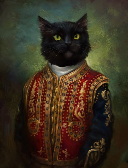 6 Gorgeous Portraits of Cats in the Royal Images!