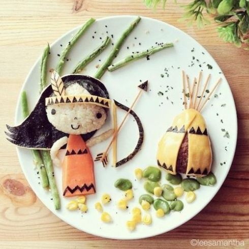 15 Amazing Food Art Ideas!