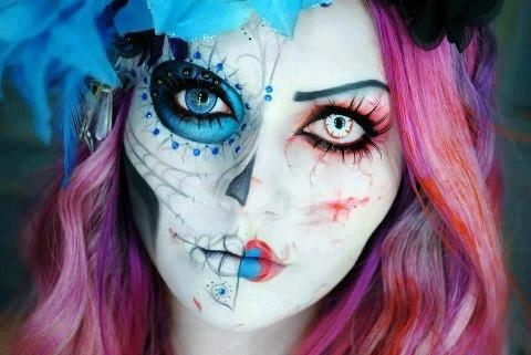 Sleepless   15 Amazing Halloween Makeup Inspiration!