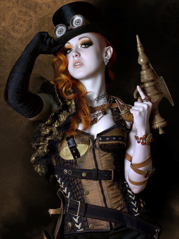 sc 1 st  Chirkup.me & 13 Incredibly Beautiful Steampunk Looks! | Redhead