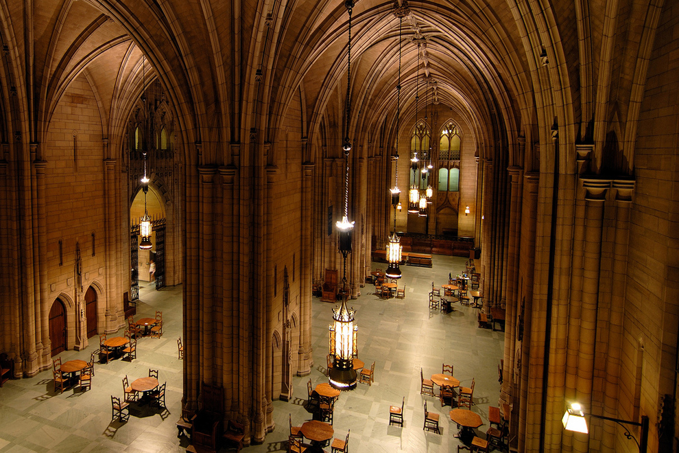 Universities that look like hogwarts