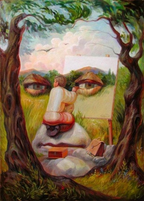 The 10 Most Awesome Optical Illusion Artworks Ever!
