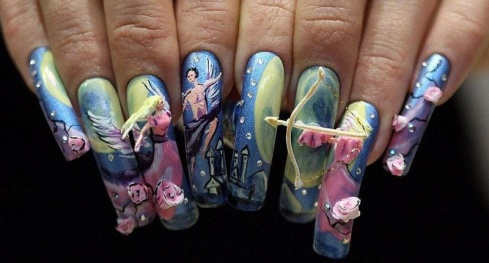 The 9 Most Crazy Nail Designs Which Blow Your Mind!