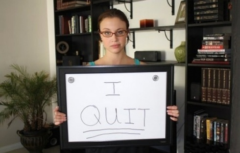 The Most Creative Way to Quit by Elyse Porterfield! 30 Pics!
