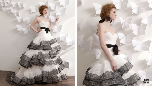 The 15 Most Creative And Amazing Wedding Dresses Ever!
