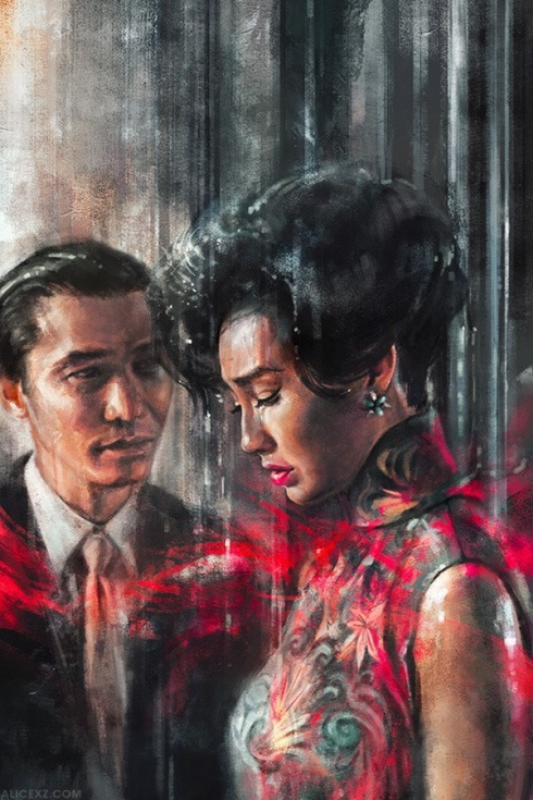 10 Amazing Film Inspired Paintings by Alice X. Zhang!