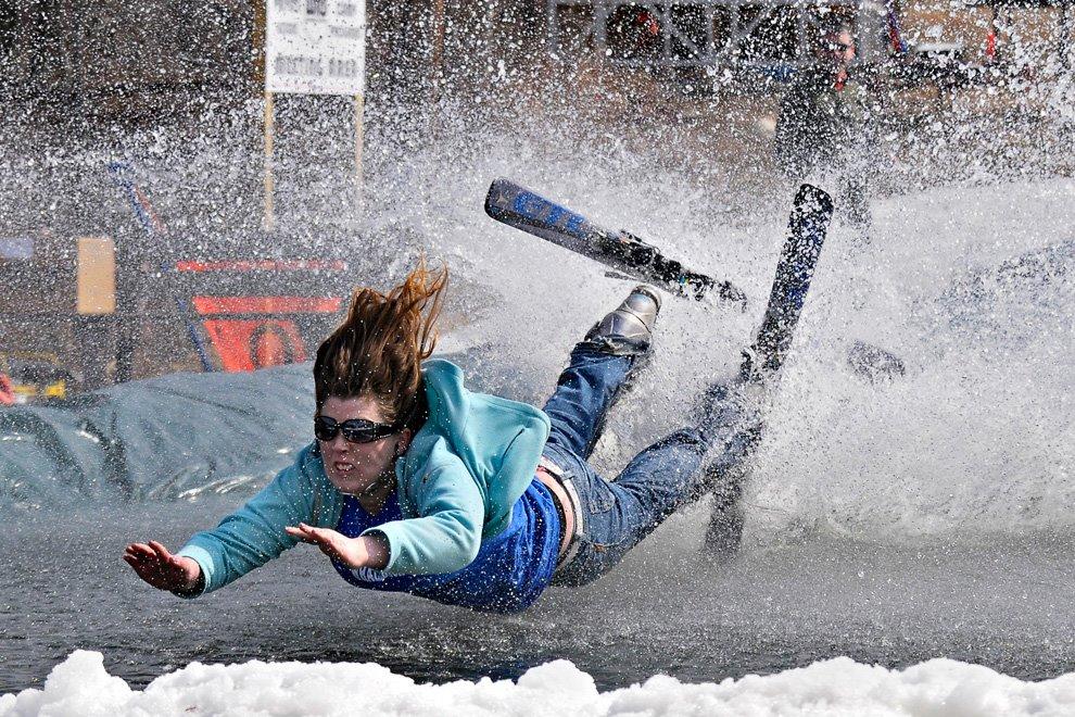 Epic Ski Fails