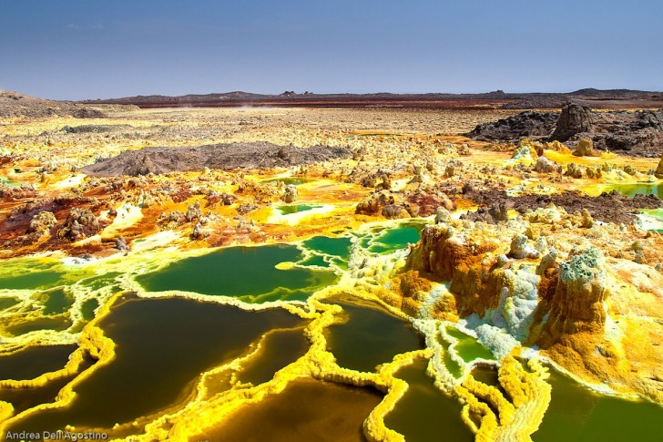 10 Most Alien Landscapes From All Over the World!
