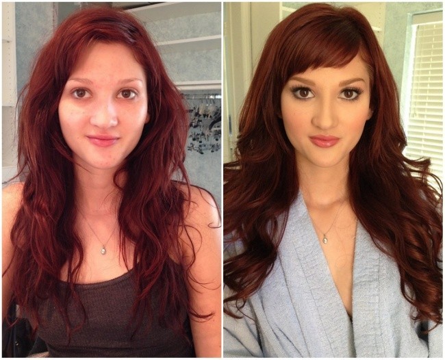 17 Truly Shocking Photos Before And After Makeup!