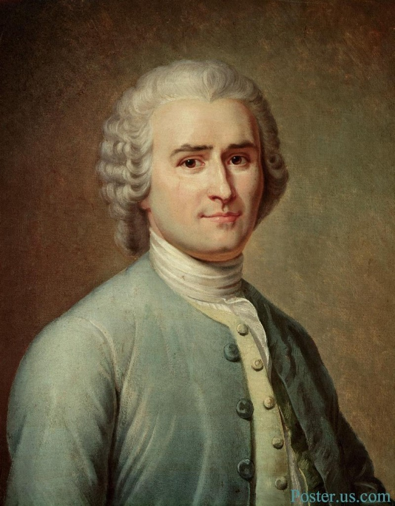 a biography of jean jacques rousseau a french philosopher